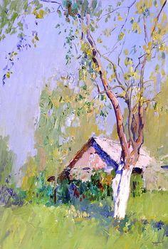 peter bezrukov, artists, landscap, beauti emerg, tree