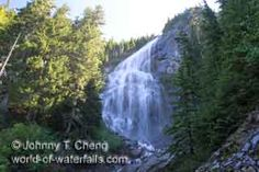 Spray Falls in Mt. Rainier. Only .5 miles to falls