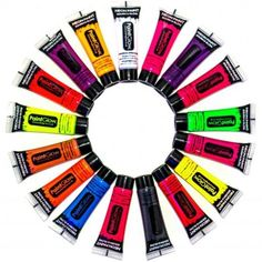 Neon/UV Glow In The Dark Face & Body Paint -Neon Pink Fantastic Product