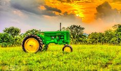 Visit my boyfriend's Facebook page at Rustic Road Studios!! He sells his prints on Etsy as well! John Deere Tractor on Etsy, $75.00