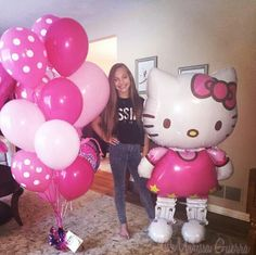 Maddie's b-day ballons from Sia