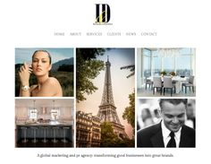 Website design for Images and Details PR firm by JanMacBrands.