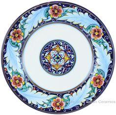 Deruta Italian Salad Plate - Ricco
