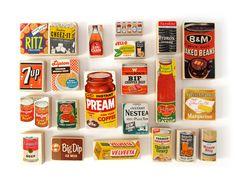 1950s Grocery Blocks