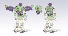 Buzz Lightyear Wings, Buzz Lightyear Backpack, Buzz Lightyear Costume, Toy Story Buzz Lightyear, Buzz Costume, Toy Story 3, Toy Story Crafts, Disney Pixar, Disney Toys