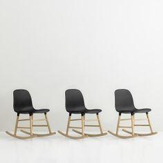Form Rocking fauteuil Normann Copenhagen zwart | Musthaves verzendt gratis