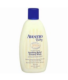 aveno baby wash - I hardly ever have zits...thanks to my favorite face wash :=)