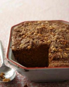 Grandma Johnson's Applesauce Cake | Sweet Paul Magazine