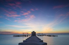 Panorama of Mar Menor lagoon, from L by skabarcat on Creative Market