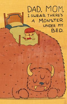 A monster under my bed