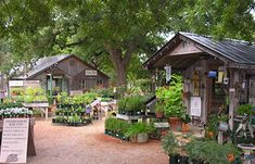 Fredericksburg's Herb Farm has a spa and cottages, fine dining, and hand crafted candles, soaps and lotions.