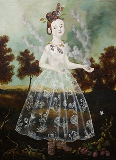 Paintings by Anne Siems | Cuded