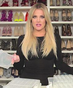 Khloe Kardashian shares her jewelry organizing tips! (Plus, see inside her amazing closet)