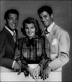 Dean and Jerry with Corinne Calvet