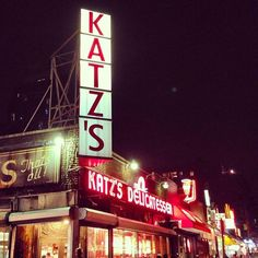 Katz's Delicatessen - Lower East Side - Nueva York, NY