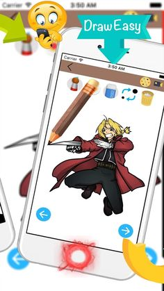 how to draw anime: captura de pantalla