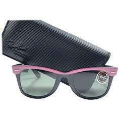 a53306c5ad026 New Ray Ban The Wayfarer Candy Pink   Black B l Grey Lenses Usa 80 s  Sunglasses