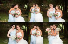 Bride & Each Bridesmaid Fun & Cute Photos   Country Wedding Photographer   Lucy Schultz Photography