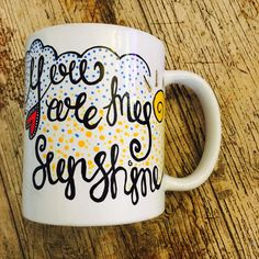 All Things Bright and Beautiful Part 1 by Sarah Jones on Etsy Hand Painted Mugs, Shopping World, You Are My Sunshine, Fathers Day, All Things, Tea Pots, Christmas Gifts, My Etsy Shop, Iphone Cases
