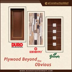 Give your home a touch of class with high-grade #plywood furniture! eConstruction Mart provides an extensive range of plywood, veneers, #BlockBoard, and doors at best price in India.