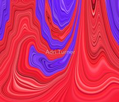 Red and Purple Flowing Bold Color Abstract Art Design www.mindingmyvisions.com  https://www.facebook.com/mindingmyvisions