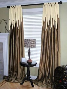 Living room curtains elegant shades 57 ideas for 2019 Living Room Decor Colors, Living Room Green, New Living Room, Living Room Modern, Living Room Flooring, Living Room Paint, Drapery Panels, Drapes Curtains, Curtain Designs For Bedroom