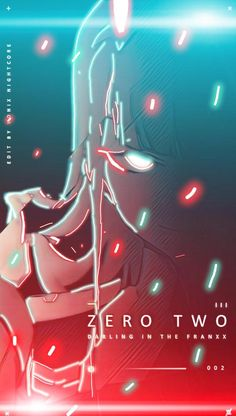 Digital Zero Two - DarlingInTheFranxx Chica Anime Manga, Otaku Anime, Kawaii Anime, Zero Wallpaper, Anime Wallpaper Live, Anime Backgrounds Wallpapers, Animes Wallpapers, Wallpaper Wallpapers, Anime Girl Cute