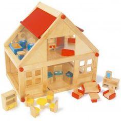 Domček pre bábiky s príslušenstvom