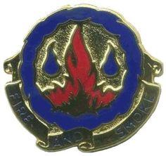 487th Chemical Bn Unit Crest