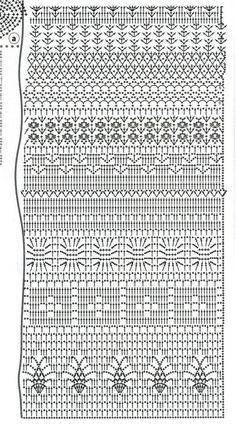 Вязание крючком жилет - Рене - Лей Ю. Сюань
