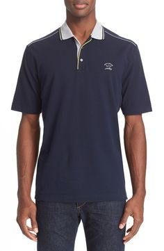 Paul & Shark Piqué Cotton Polo | Nordstrom