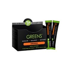 Alkalize, energize, and detoxify wherever you go with Greens on the Go™. This convenient, single serving packet of Greens is now powered by an even better pH-balancing blend, supercharged with an acidity-fighting combination of magnesium and potassium for even more alkalizing properties. The addition of a cutting-edge probiotic helps you maintain that healthy balance by keeping your digestive system regular and toxins flowing out.  With multiple servings of fruits and vegetables and a blend…