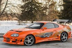 Fast and the Furious Toyota Supra for Sale