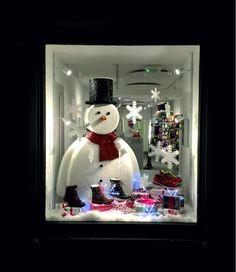 FRANK THE SNOWMAN, creative by Graham Sweet Studios, pinned by Ton van der Veer