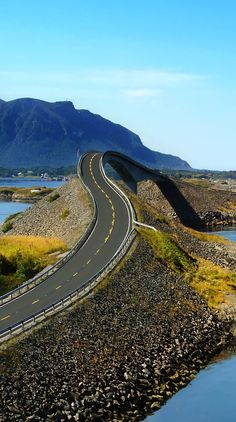 Famous Atlantic road, Norway (Atlanterhavsvegen)   |    23 Roads you Have to Drive in Your Lifetime