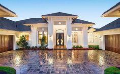 Super-Luxurious Mediterranean House Plan - 66359WE thumb - 02