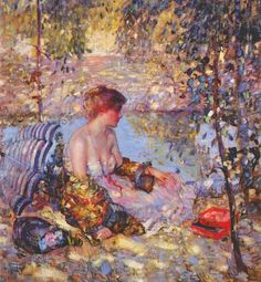 The Athenaeum - Sylvan Dell (Richard Edward Miller - )