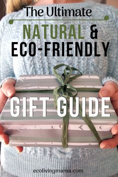 This is the Ultimate Natural + Eco-Friendly Gift Guide! This gift guide has tons of unique, natural gift ideas for women. You'll find natural and healthy gifts for your mom, wife, sister, friends or anyone else who lives a healthy lifestyle. Gifts For Your Mom, Gifts For Friends, Sister Friends, Eco Friendly Cleaning Products, Sustainable Gifts, Sustainable Living, Sustainable Fashion, Hobbies For Women, Gifts For Nature Lovers