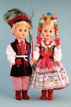 DreamWorld Collections Krakovian Girl (Krakowianka) - 18 Inch Collectible Regional Doll : Regional Dolls Folk Costume, Costumes, Polish Folk Art, Miss World, Krakow, Doll Stuff, 18 Inch Doll, Poland, American Girl
