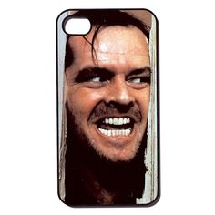 apple iPhone 4 case iPhone 4s case  Here's Johnny by CudageCase, $15.99