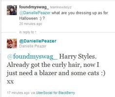 Danielle. Love that girl's sense of humor :)