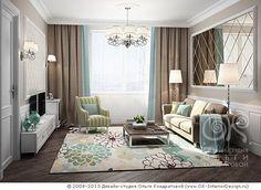 Дизайн интерьера квартир, перепланировка, фото интерьеров  Дизайн-студия Ольги Кондратовой