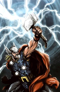 THOR - God of Thunder. by avalonfilth.deviantart.com on @deviantART