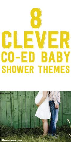 8 clever coed baby shower themes