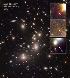 #Astronomy: @NASA's Hubble Finds Extremely Distant Galaxy through Cosmic Magnifying Glass | cc: @NASA_Hubble #NASA