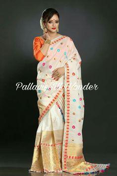 Mekhela Chador, Saree Blouse, Traditional Dresses, Boutiques, My Wardrobe, Blouse Designs, Sarees, Blouses, Silk