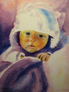 Korrin, watercolour