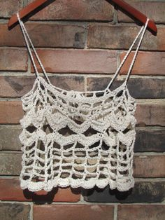 Ready to ship spring summer CROCHET swim COVERUP by FoxRunDrive, $25.00