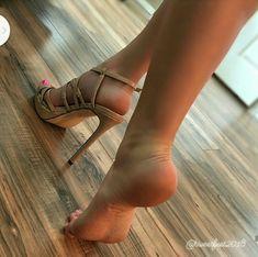 Heels or bare feet? Sexy High Heels, High Heels Boots, Sexy Legs And Heels, Hot Heels, Feet Soles, Women's Feet, Sexy Zehen, Brian Atwood Shoes, Pantyhose Heels