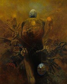 Dark Art - Zdzisław Beksiński